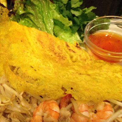 バインセオ~ベトナム風お好み焼き